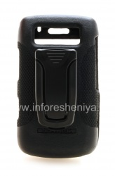 Brand plastic case + belt clip Body Glove Elements Snap-On Case for BlackBerry 9700/9780 Bold, The black