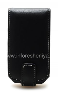 Buy Signature Leather Case handmade Monaco Flip Type Leather Case for BlackBerry 9700/9780 Bold