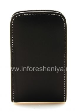 Buy Signature Leather Case-pocket handmade Monaco Vertical Pouch Type Leather Case for BlackBerry 9700/9780 Bold
