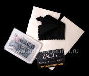 Branded protective film for the screen and cabinet ZAGG invisibleSHIELD for BlackBerry 9700/9780 Bold, Transparent