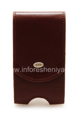 Buy Signature Leather Case with Clip AGF Premium Pouch for BlackBerry