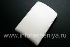 Leather Case-pocket (copy) for BlackBerry, White