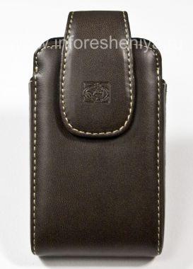 Buy BlackBerry用クリップボディグローブ垂直な観光地ユニバーサル保護ケースシグネチャーレザーケース