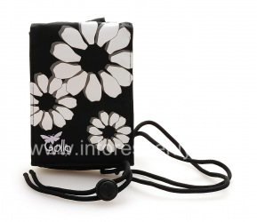 Firm fabric cover Bag Golla Grape Pouch for BlackBerry, Black