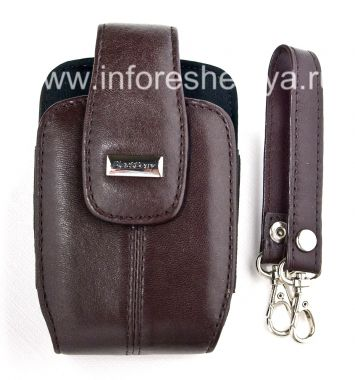Buy The original leather case with strap and metal tags for BlackBerry Leather Tote