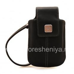 Original Leather Case Bag for BlackBerry Leather Tote, Black