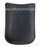 Original Leather Case-pocket Synthetic Pocket Pouch for BlackBerry, Black
