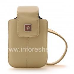 Original Leather Case Bag for BlackBerry Leather Tote, Sandstone