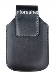 The original leather case with clip Sythetic Swivel Holster for BlackBerry, Black