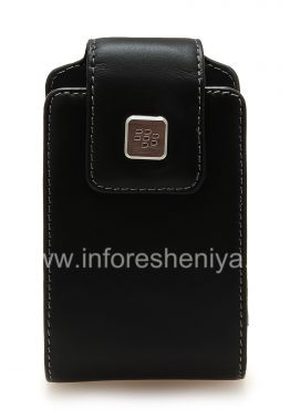 Buy The original leather case with a clip and a metal tag Leather Swivel Holster for BlackBerry