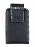 The original leather case with clip Leather Swivel Holster for BlackBerry, Black