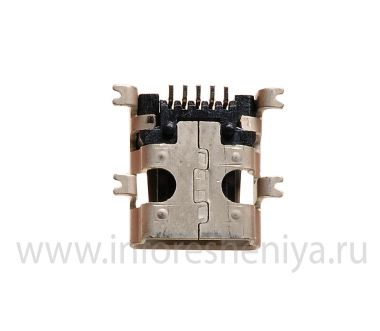 Buy USB-connector (Charger Connector) T10 for BlackBerry