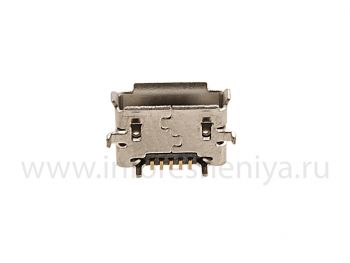USB-connector (Charger Connector) T11 for BlackBerry
