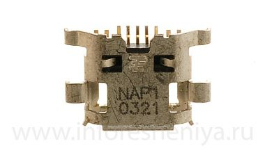 Buy USB-connector (Charger Connector) T4 for BlackBerry