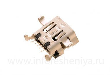Buy USB-connector (Charger Connector) T5 for BlackBerry