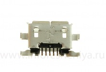 USB-connector (Charger Connector) T7 for BlackBerry