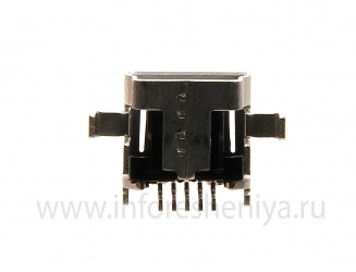 USB-connector (Charger Connector) T9 for BlackBerry