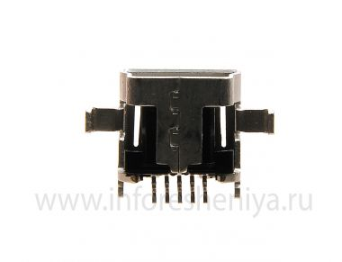 Buy USB-connector (Charger Connector) T9 for BlackBerry