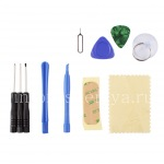 Tool Set (10 pcs.) For the disassembly and repair smartphones, Black, blue