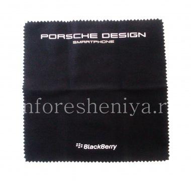 Buy Exclusive cloth to clean the Porsche Design BlackBerry smartphone