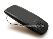 The original Speakerphone VM-605 Bluetooth Premium Visor Handsfree for BlackBerry, The black