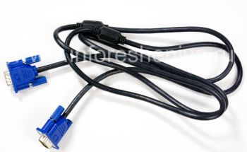VGA-cable to connect the BlackBerry Presenter