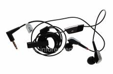 3.5mm auricular original de auriculares estéreo de alta calidad para BlackBerry, Negro (Negro)