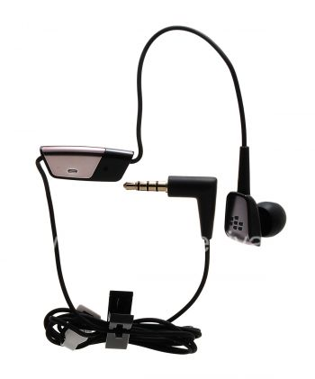 Original Mono Headset 3.5mm Premium Mono Bud Headset for BlackBerry