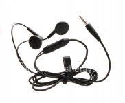Original 3.5mm Standard Stereo Headset for BlackBerry, Black