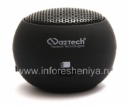 Bermerek Portabel sistem audio Naztech N15 3.5mm Mini Boom Speaker untuk BlackBerry, Black (Kembali)