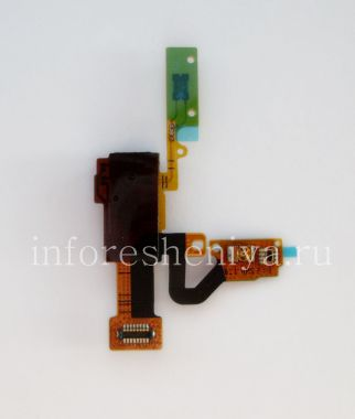 Buy Audio connector (Headset Jack) T13 in assembly with proximity / light sensor and lock button for BlackBerry Z10 / 9982