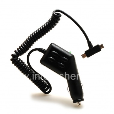 Buy Exclusive car charger with two connectors: MicroUSB and MiniUSB for BlackBerry